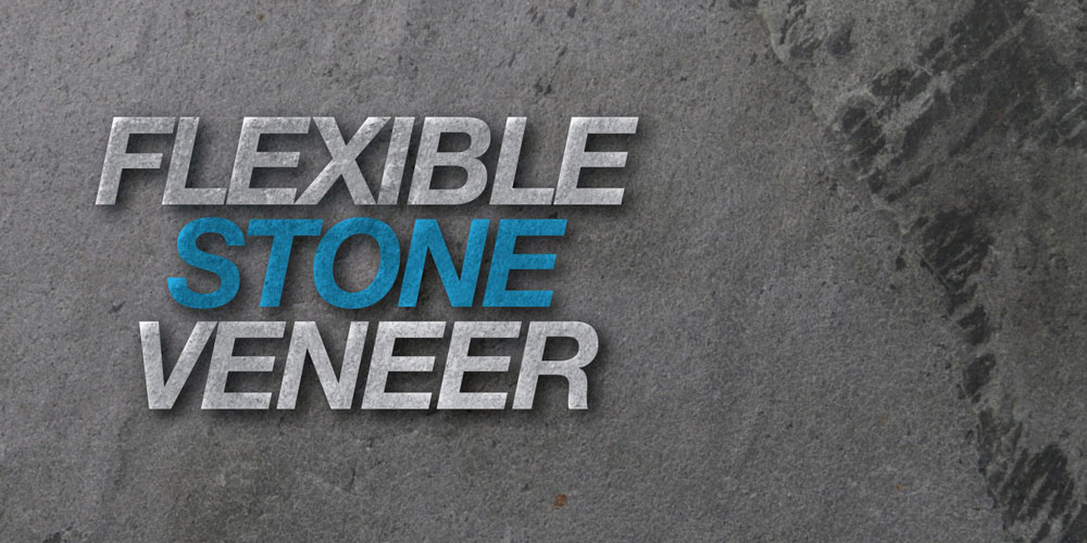 Flexible Stone Veneer : Cuartex natural flexible stone veneer